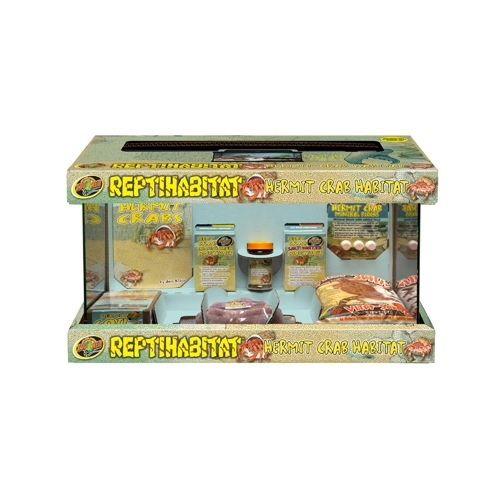 ReptiHabitat Hermit Crab Kit 51x25x30cm Zoomed