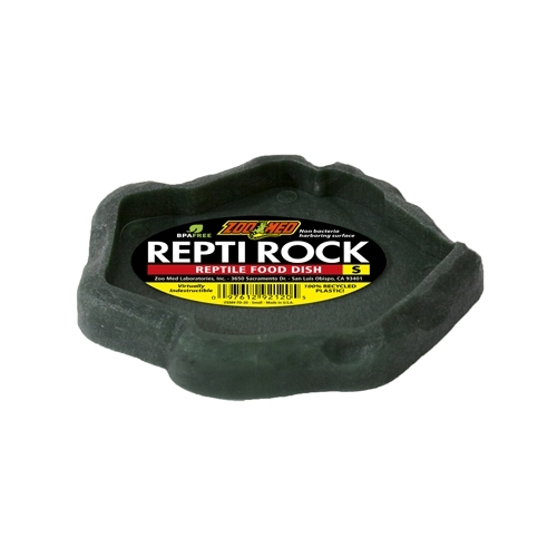 VASQUE REPTI ROCK FOOD DISH SMALL  ZOOMED