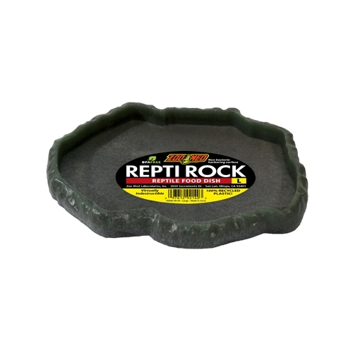 VASQUE REPTI ROCK FOOD DISH LARGE  ZOOMED