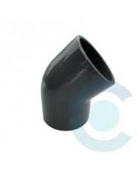 COUDE PVC FF 45°  40mm