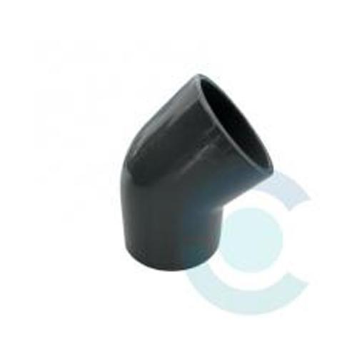 COUDE PVC FF 45°  50mm *