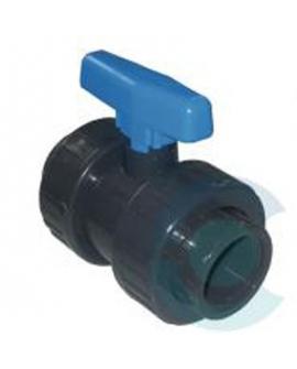 *ROBINET PVC à bille  40mm (sur commande x5)