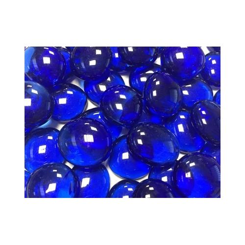 PERLE DE CRYSTAL bleue foncée