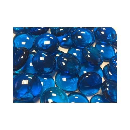 PERLE DE CRYSTAL bleue claire