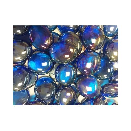 PERLE DIAMANT bleu claire-----