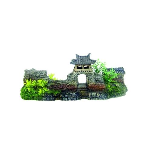JAPAN TEMPLE DOOR L 29x9,5x10,5cm