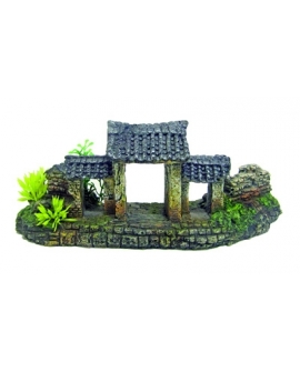 JAPAN TEMPLE DOOR M 20,5x7,3x8,5cm