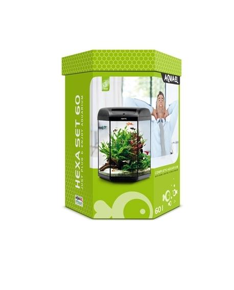 aquarium hexa set 60l hardy dewerse. Black Bedroom Furniture Sets. Home Design Ideas