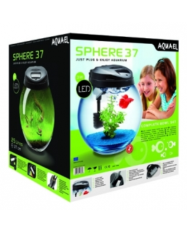 AQUARIUM BOULE SPHERE 37 Led 3W-----