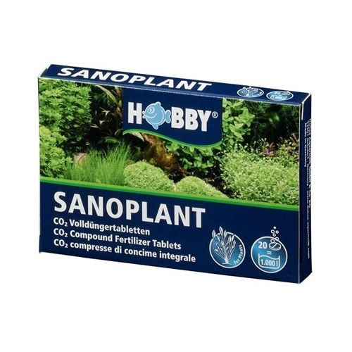SANOPLANT CO²  HOBBY    20 comp.
