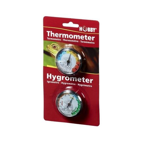 THERMOMETRE + HYGROMETRE blister