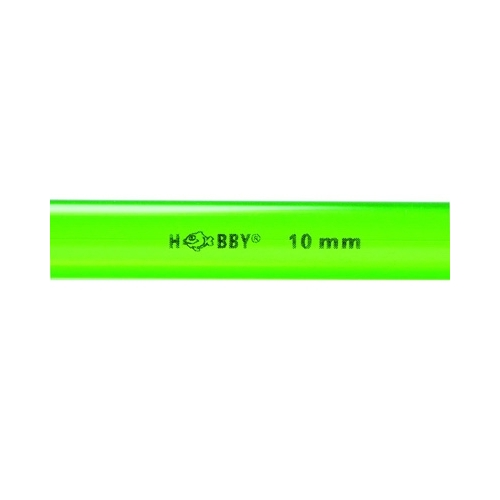 TUBE rigide vert  10mm extérieur  1m HOBBY