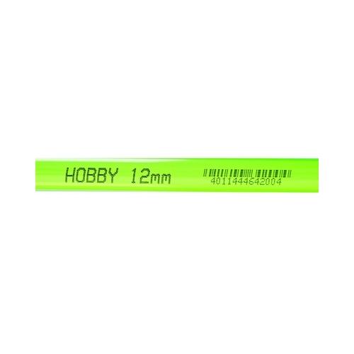 TUBE rigide vert  12mm extérieur  1m HOBBY