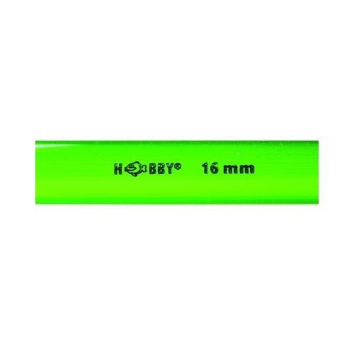 TUBE rigide vert  16mm extérieur  1m HOBBY