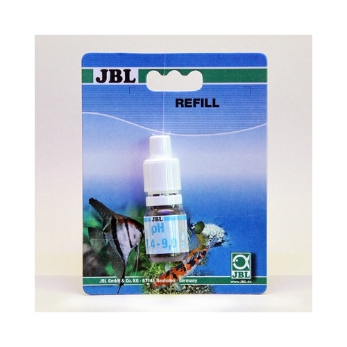TEST JBL recharge PH 7,4-9,0 ----