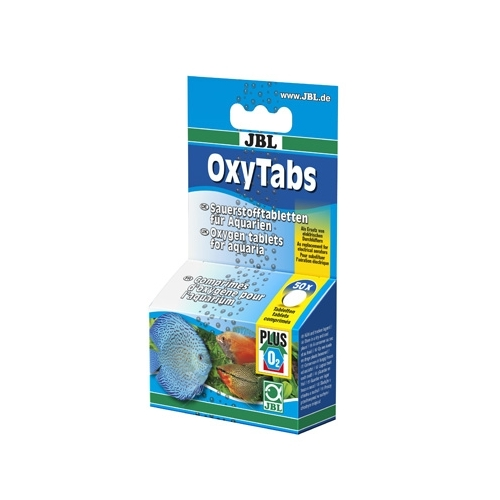 COMP. OXYGENE JBL OXYTABS 50c.