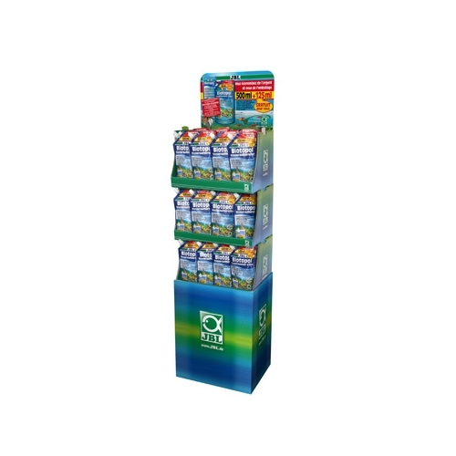 DISPLAY BIOTOPOL recharge 500+125ml offert x 54pc