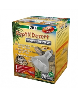 *LAMPE Reptil Desert L-U-W light alu 70w JBL (sur commande)