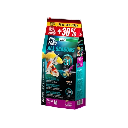 ProPond All Seasons M 7.5kg (5.8kg+30% gratis) JBL