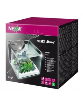 AQUARIUM MARIN NOIR NEWA MORE 30 REEF 30x30x30cm 28L---