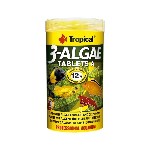 3-ALGAE Tablets  A 250ml-----