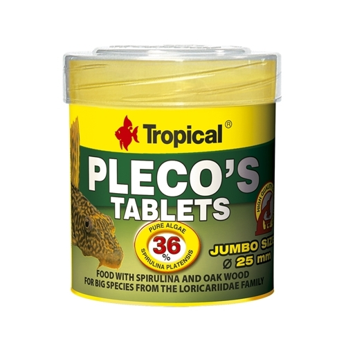 PLECO'S TABLETS 11pcs 50ml