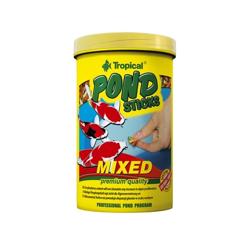 *POND STICKS MIXED 1L boite TROPICAL (sur commande x6)