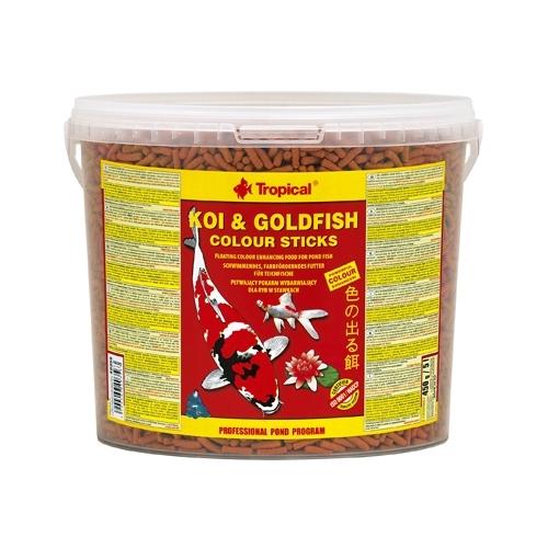 *KOI & GOLDFISH COLOUR STICKS 5L TROPICAL (sur commande)