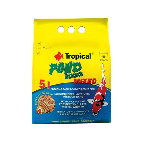 *POND STICKS MIXED 5L/400gr  TROPICAL (sur commande)