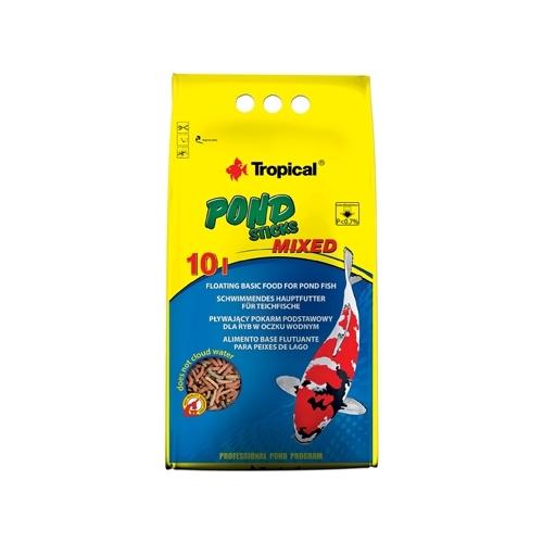 *POND STICKS MIXED 10L/800gr  TROPICAL (sur commande)
