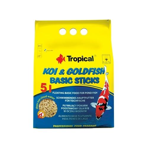 *KOI & GOLDFISH BASIC STICKS 5L/400g TROPICAL (sur commande)
