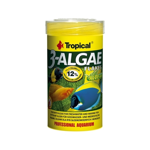 3-ALGAE FLAKES 100ml-----