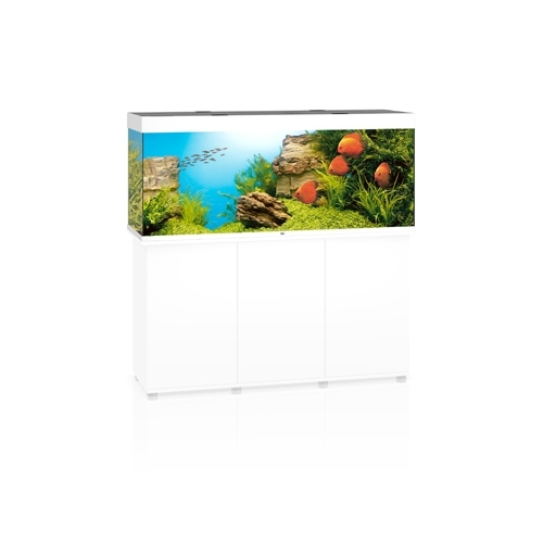 Aquarium RIO 450 LED (2x31w) BLANC  JUWEL
