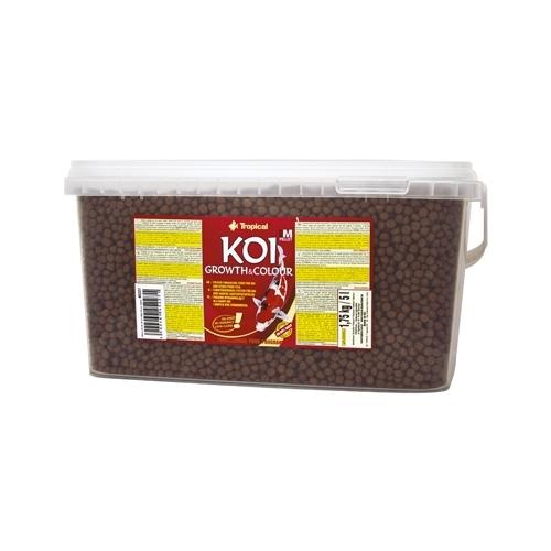 *KOI GROWTH & COLOUR PELLET 'M' 5L  TROPICAL (sur commande)