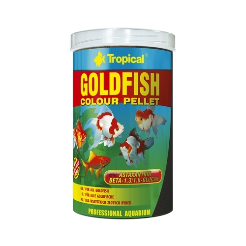 GOLDFISH COLOUR PELLET 1000ml