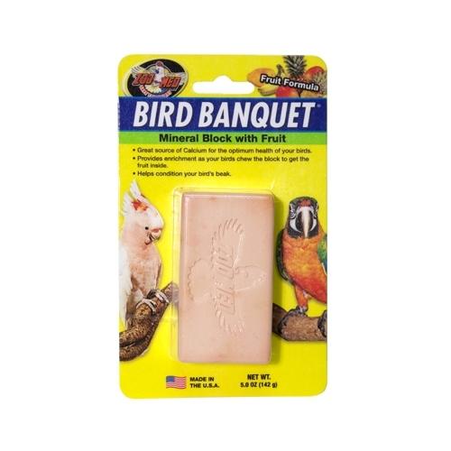 BIRD BANQUET 142grs LG minéraux avec fruits-----