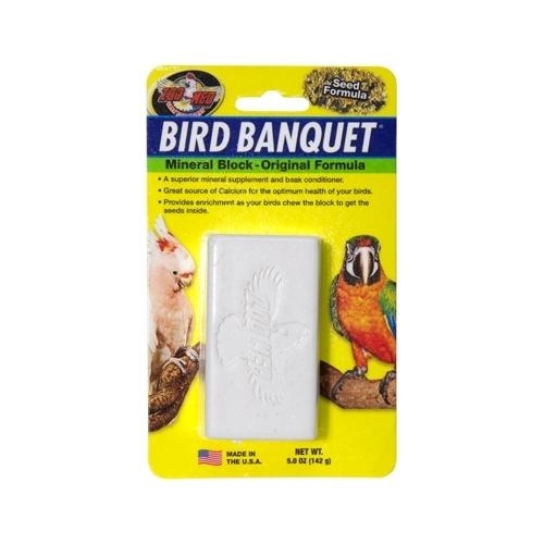 BIRD BANQUET 142grs LG minéraux avec graines-----