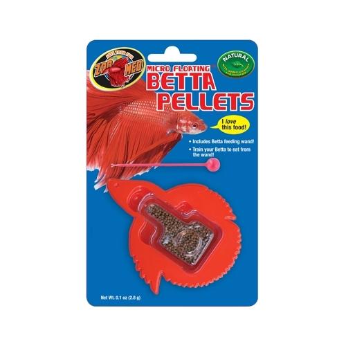 Micro floating betta pellet ZOOMED (sous forme de poisson)