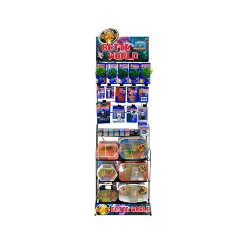 DISPLAY RACK BETTA WORLD 99 pcs ZOOMED-----
