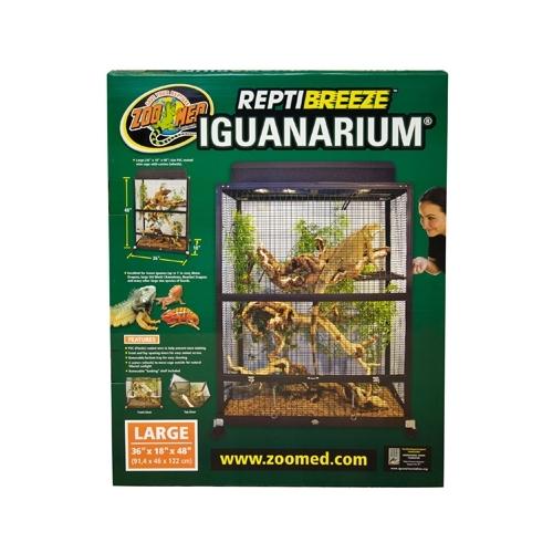 *TERRARIUM REPTIBREEZE iguanarium 91x46x122 cm  ZOOMED