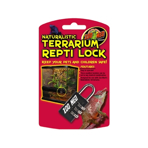 Cadenas à chiffres REPTI LOCK pour terrarium ZOOMED-----