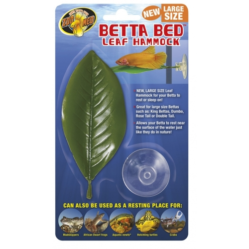 Betta Bed Leaf Hammock LARGE ZOOMED