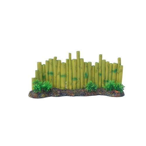 BAMBOO WITH PLANT  275x80x120mm-----