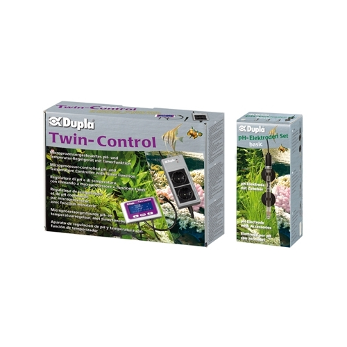 TWIN CONTROL SET + électrode ph basic  DUPLA