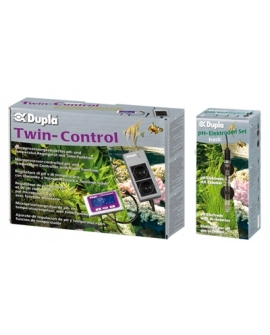 TWIN CONTROL SET + électrode ph basic  DUPLA