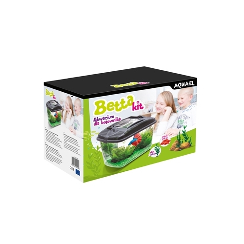 BETTA KIT 3,2L AQUAEL avec plante + gravier