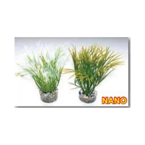NANO GREEN PLANT  H:10cm