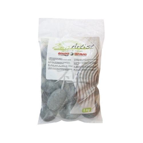 GALETS RIO NEGRO BLACK 6-8cm   5kg AMTRA