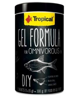 GEL FORMULA OMNIVOROUS  1000ml  (3x35g)