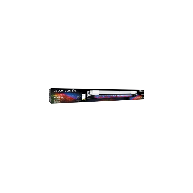 ECL LEDDY SLIM LINK BLANC 36w  SUNNY pr.aqua.100-120cm